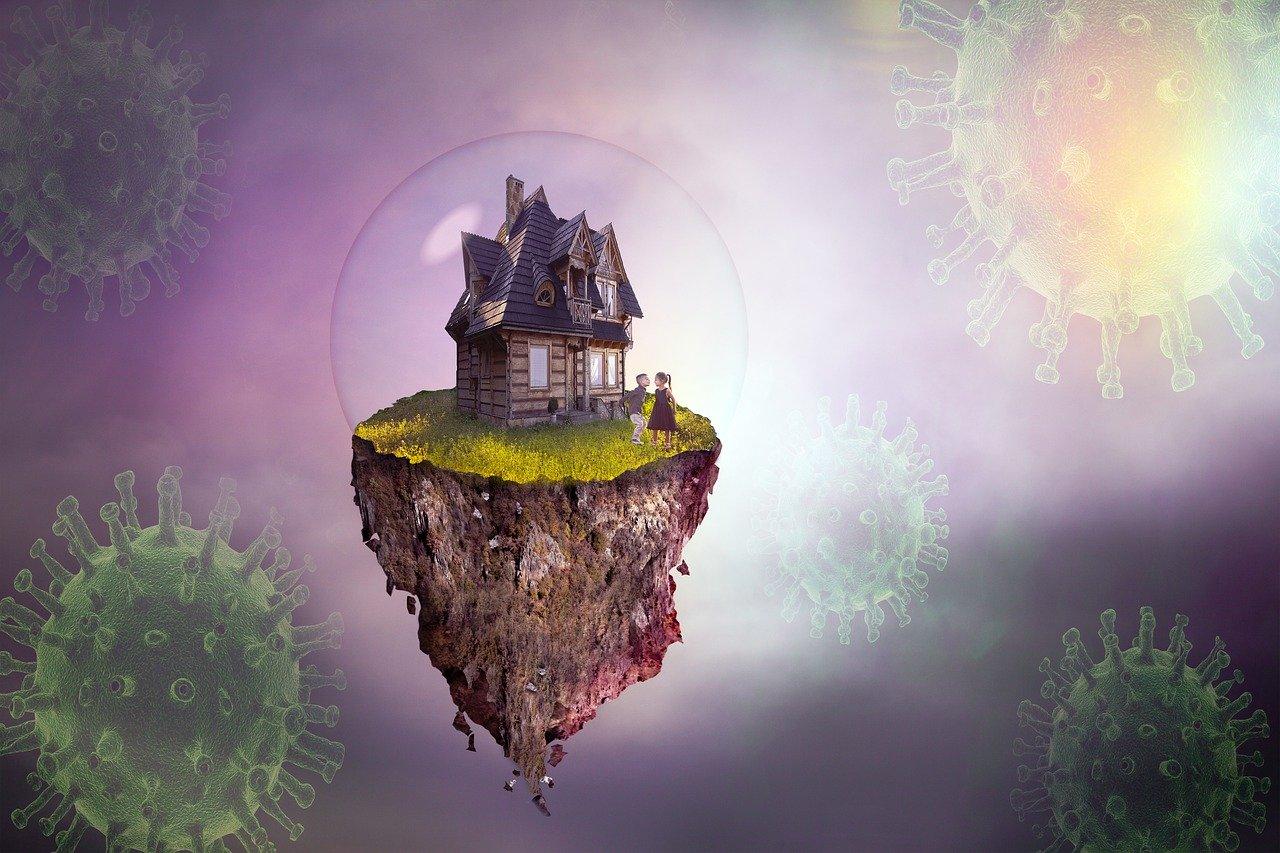 coronavirus, insulation, fantasy